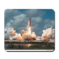 Space Shuttle Launch Mousepad