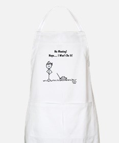 No Mowing! BBQ Apron