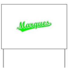 Retro Marques (Green) Yard Sign