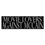 Movie Lovers Against McCain (black)