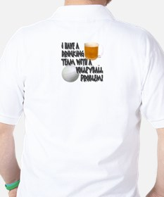Unique Funny volleyball T-Shirt