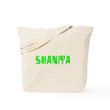 Shaniya Faded (Green) Tote Bag