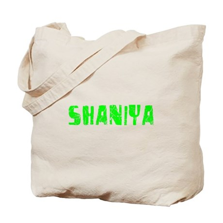 Shaniya Faded (Green) Tote Bag