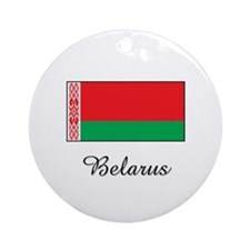 Belarus Flag Ornament (Round)