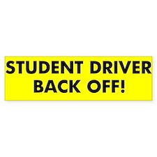 Student Driver Sticker #1(Bumper)