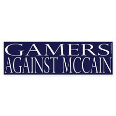 Gamers Against McCain