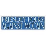 Friendly Folks Against McCain