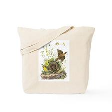 Audubon Eastern Meadowlark Birds Tote Bag