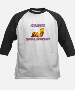 Squirrel Trapped In A Woman's Body Tee