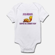 Squirrel Trapped In A Woman's Body Infant Bodysuit