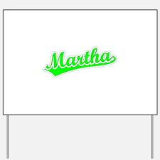 Retro Martha (Green) Yard Sign