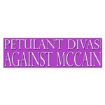 Petulant Divas Against McCain