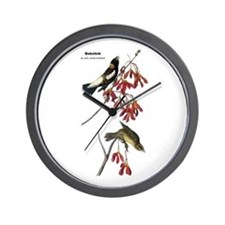 Audubon Bobolink Birds Wall Clock