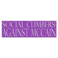 Social Climbers Against McCain