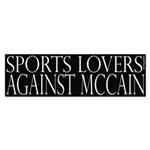 Sports Lovers Against McCain