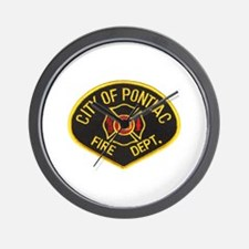 Pontiac Fire Department Wall Clock