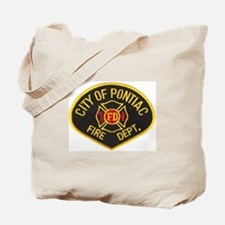 Pontiac Fire Department Tote Bag