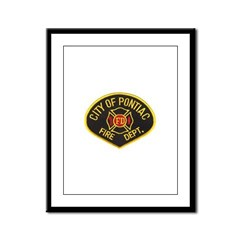 Pontiac Fire Department Framed Panel Print