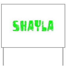 Shayla Faded (Green) Yard Sign