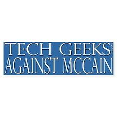 Tech Geeks Against McCain
