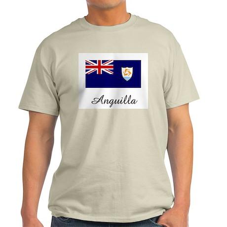 Anguilla Flag Light T-Shirt