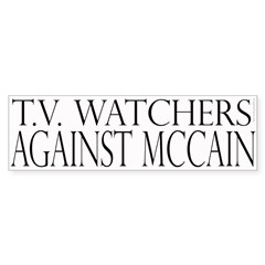 TV Watchers Against McCain