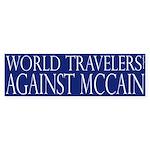 World Travelers Against McCain