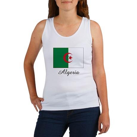 Algeria Flag Women's Tank Top