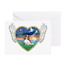 Winged Heart - Cavalier (BL) Greeting Cards (Packa