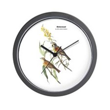 Audubon Dickcissle Birds Wall Clock