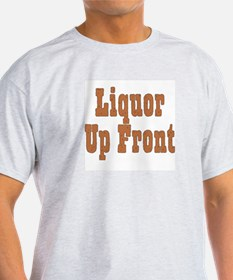 Liquor / Poker Ash Grey T-Shirt
