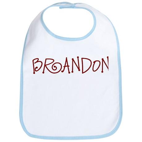 Brandon Spunky Personalized Bib