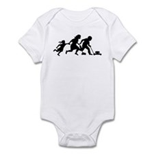 Illegals Running Infant Bodysuit