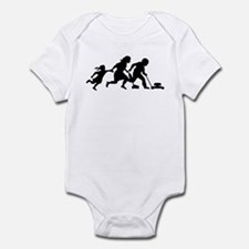 Illegals Running Infant Bodysuit