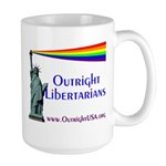 Outright Libertarians Large Mug