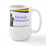 Outright Libertarians Large Mug
