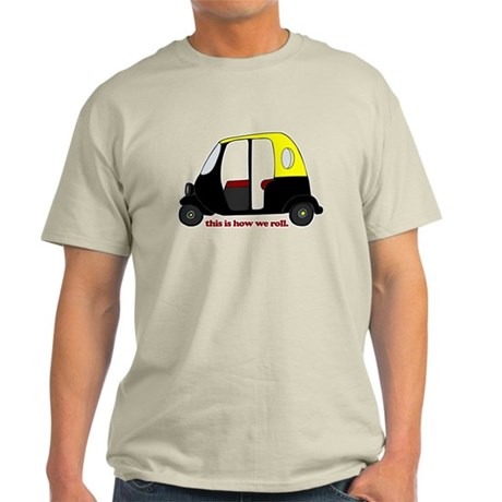 This Is How We Roll Rickshaw Light T-Shirt