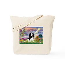 Cloud Angel Tri Cavalier Tote Bag