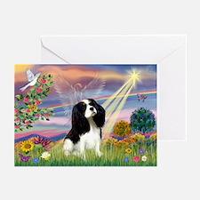 Cloud Angel Tri Cavalier Greeting Cards (Pk of 10)