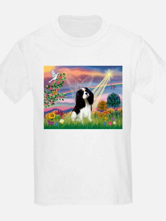 Cloud Angel Tri Cavalier T-Shirt