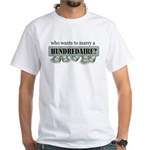Hundredaire White T-Shirt
