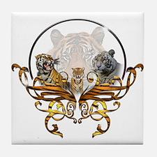 Tigers Tile Coaster
