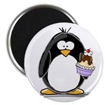 Ice Cream Sundae Penguin Magnet