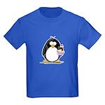 Ice Cream Sundae Penguin Kids Dark T-Shirt