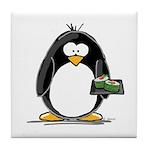 Sushi Penguin Tile Coaster