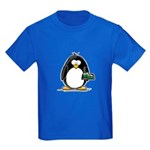Sushi Penguin Kids Dark T-Shirt