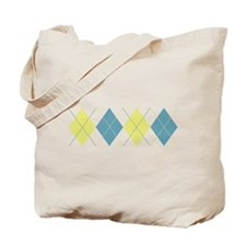 Argyle Business Casual Tote Bag