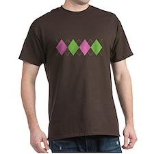 Argyle Business Casual T-Shirt