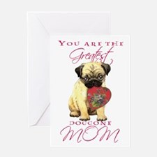 Pug Mother's Day Greeting Card