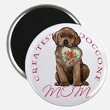 Chocolate Lab Mom Magnet